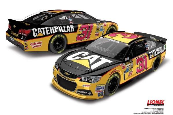 Ryan Newman 31 Caterpillar Chevrolet