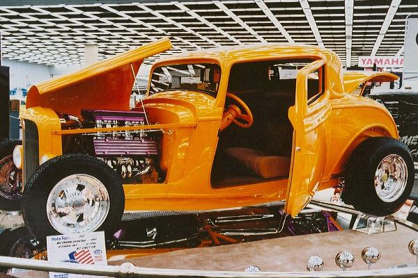 1988 Mal Kieswetter 1932 Ford 3W Coupe The Gambler