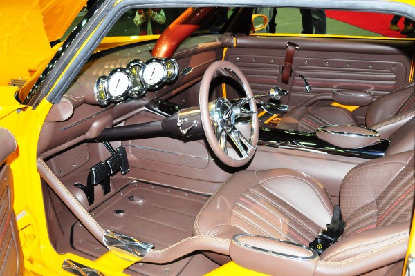 Cockpit driver's seat