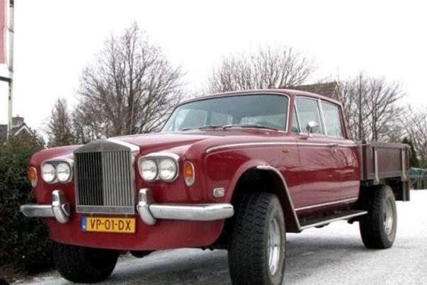 Rolls-Royce SIlver Shadow pickup