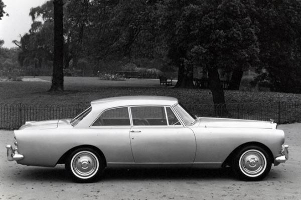 1962 Bentley S3 Continental Park Ward Sports Sedan