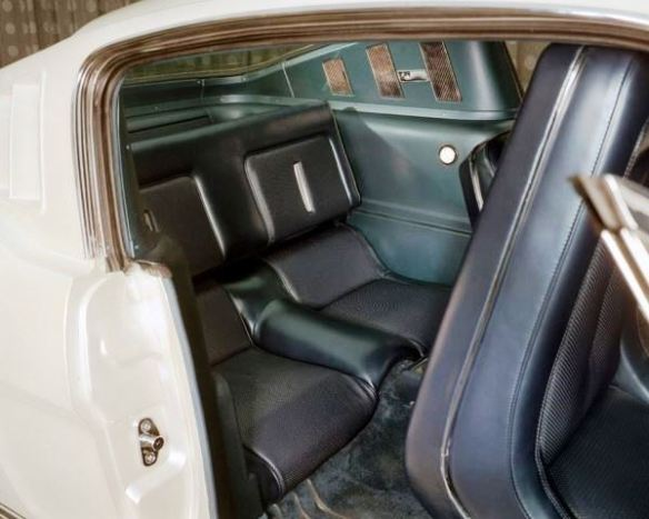 6 Edsel Ford II Mustang rear seat