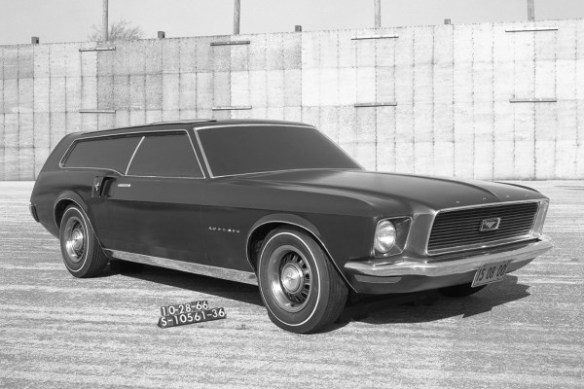 Ford Mustang Concept Station Wagon 10-28-1966