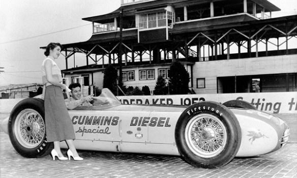 1952 Cummins Diesel Special pagoda