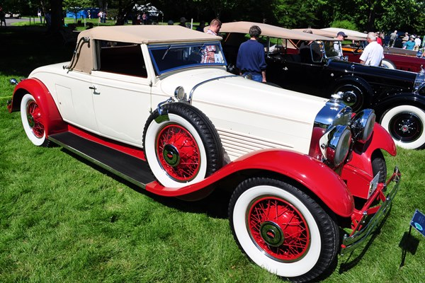 1930 Stutz SV16 Convertible Coupe LeBaron Mike Hurley