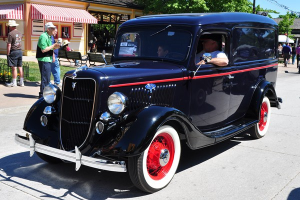 1935 Ford Panel Delivery Thomas Timoszyk
