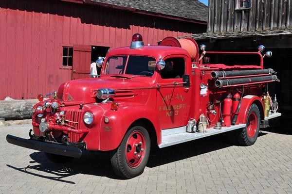 1947 Ford T47 Pumper Henry Burger