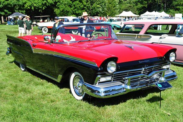 1957 Ford Fairlane 500 Sunliner Ed Meurer Jr.