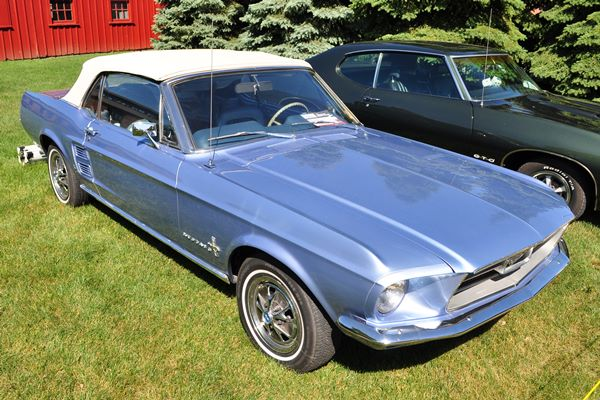 1967 Ford Mustang Coupe Dennis Zella