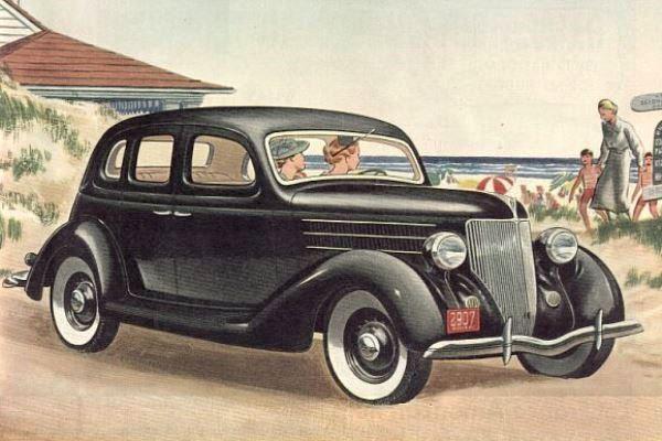1936 Ford V8 Deluxe Fordor Sedan