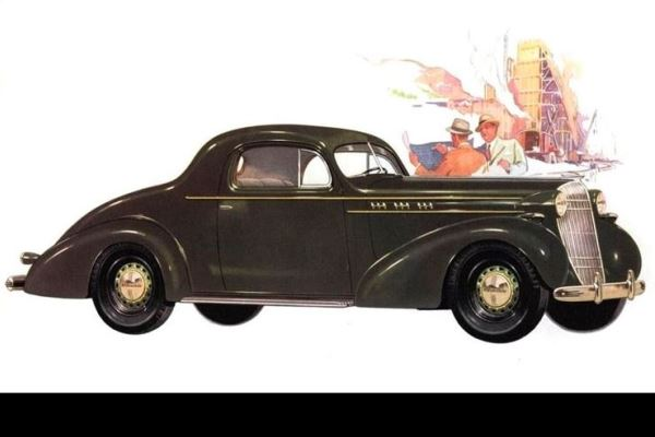 1936 Oldsmobile Eight Business Coupe