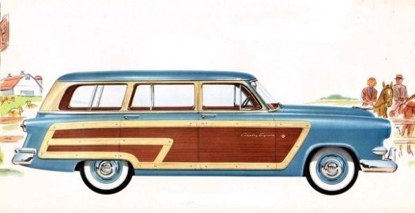 1953 Ford Crestline Country Squire station wagon