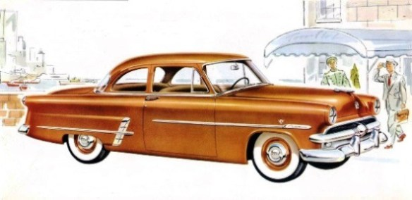 1953 Ford Customline V-8 Club Coupe