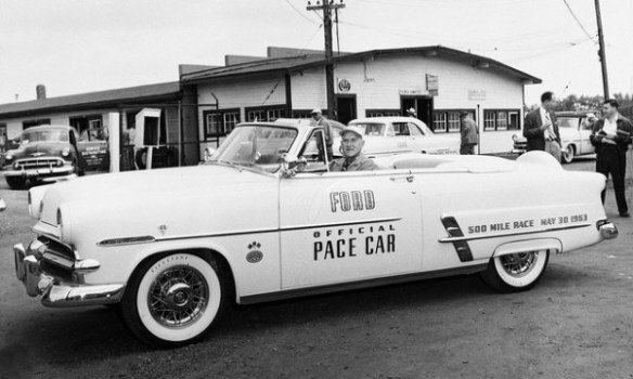 1953 Ford pace car Gasoline Alley