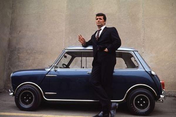 with his 1966 Radford Mini Cooper S
