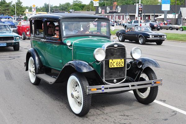 1931 Ford Model A Fordor Deluxe Sedan
