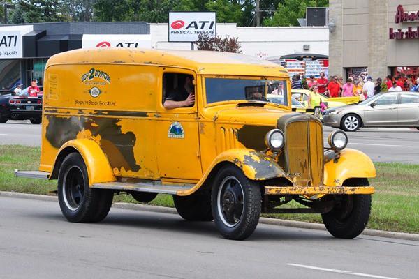 1935 Chevrolet Panel Van