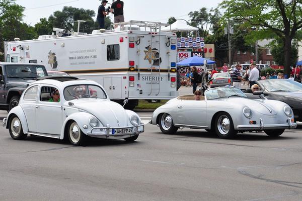 Volkswagen Beetle and Porsche