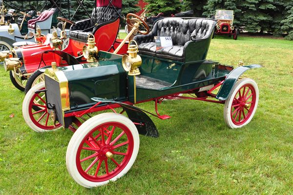 1907 Ford Model N Jerry Ooteghem