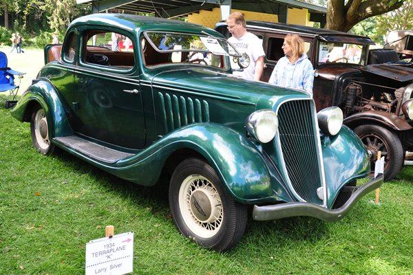 1934 Terraplane Model K Coupe Larry Silver