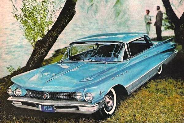 1960 Buick Electra 225 four-door hardtop