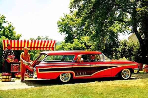 1960 Mercury Colony Park Wagon
