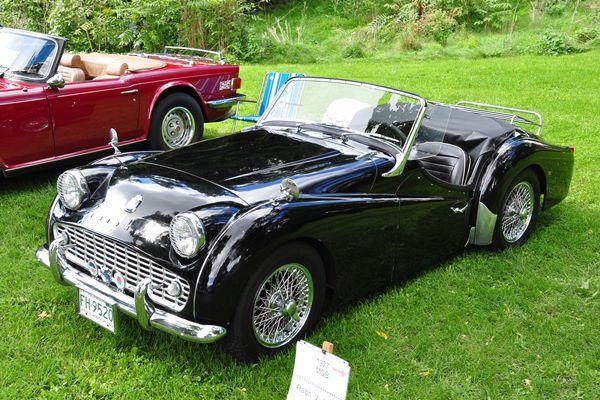 1963 Triumph TR3B Bruce Ware