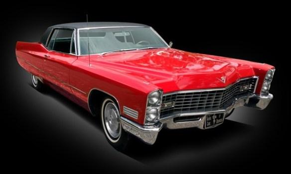 Elvis Presley 1967 Cadillac