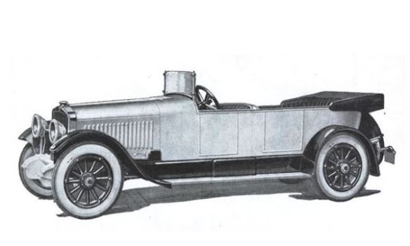 1917 Doble-Detroit Touring steam car