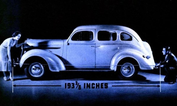 1937 Plymouth  trunk sedan