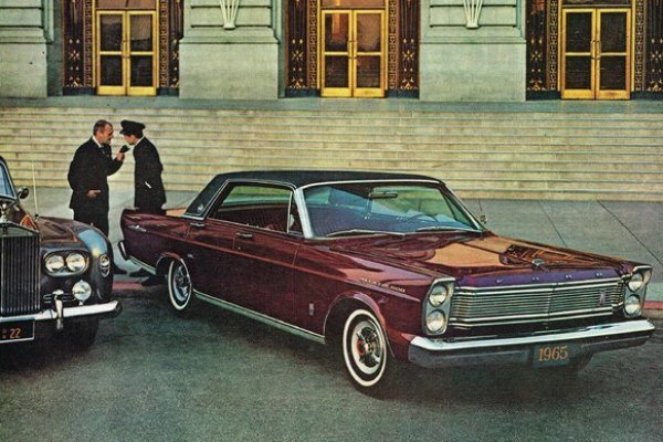 1965 Ford LTD four-door hardtop