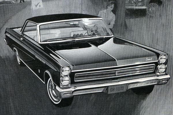 1965 Mercury Comet Cyclone Hardtop