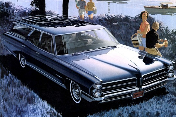 1965 Pontiac Bonneville Custom Safari Wagon