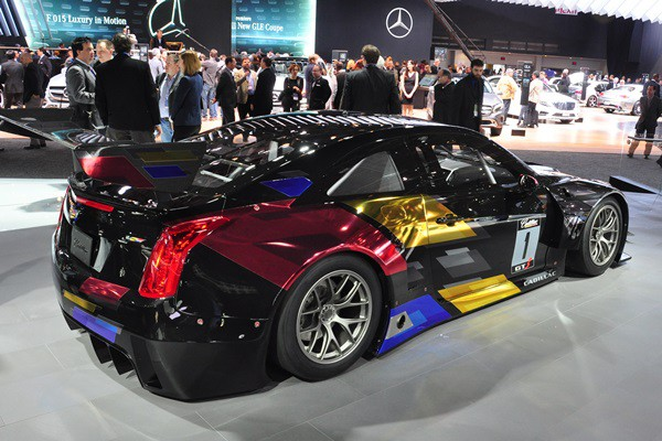 2015 Cadillac CTS-V World Challenge racer