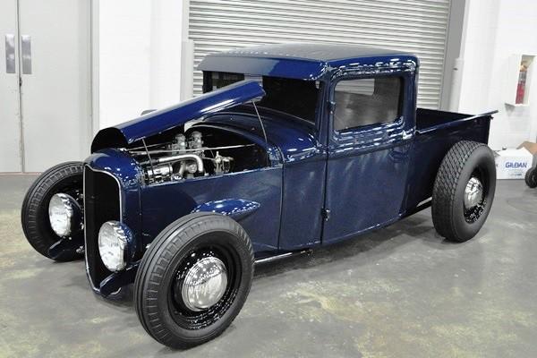 1934 Ford Pickup Merc V8 Matt Hooper