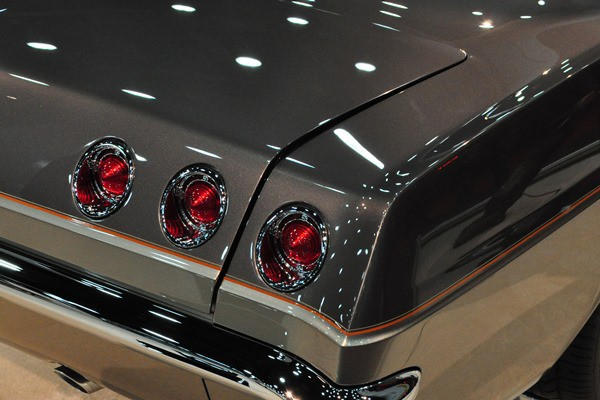 deck lid and taillamps