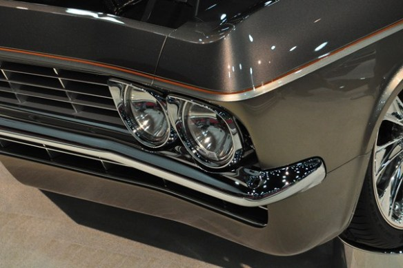 headlamp and bumper detail