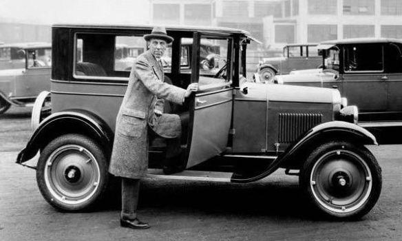 1927 Chevrolet Coach Alfred P. Sloan Jr.