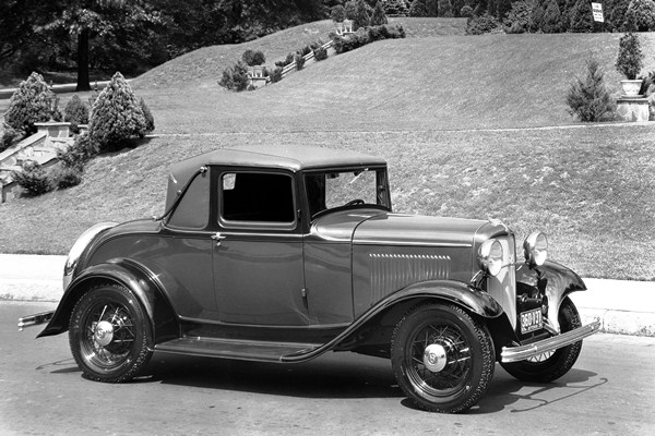 1932 Ford B-50 V8 Sport Coupe