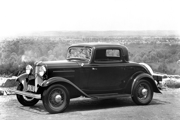 1932 Ford B-520 DeLuxe Coupe at vista