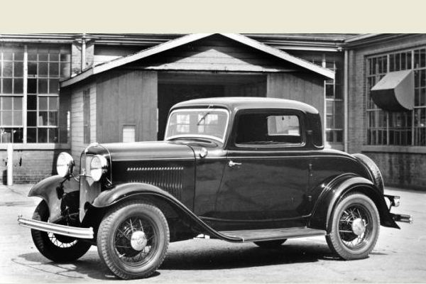 1932 Ford B-520 V8 Deluxe Coupe