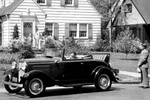 1932 Ford B-68 Deluxe Cabriolet