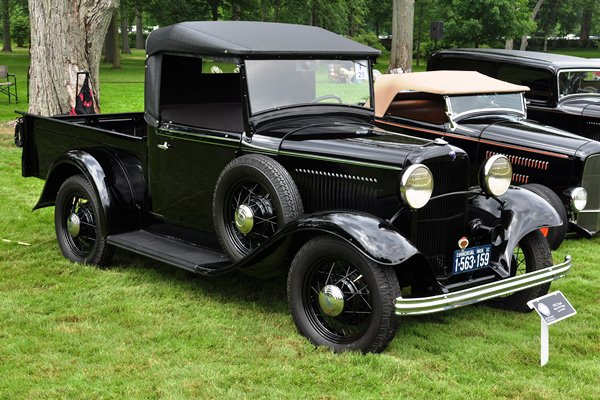 Lewis Wolff 1932 Ford B-76 Open Cab Pickup