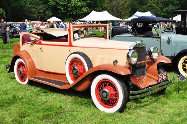 1930 Hupmobile Cabriolet Bill & Robin Heller