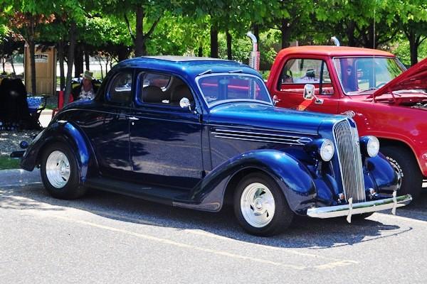 1936 Plymouth Coupe Tom Mason