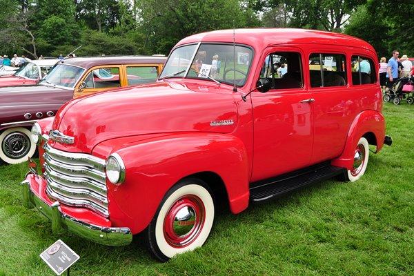 1952 Chevrolet Suburban Jim Morningstar