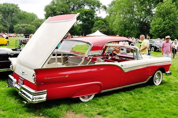 1957 Ford Fairlane 500 Retractable Lawrence Miller