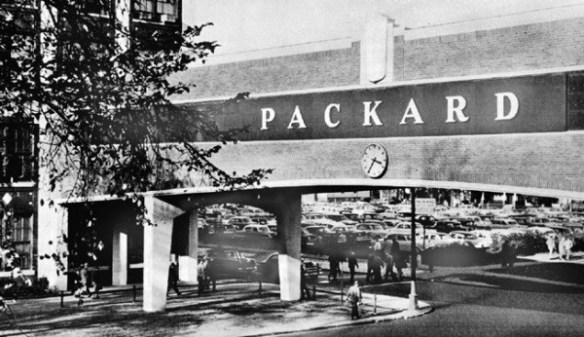 Packard overpass c1954