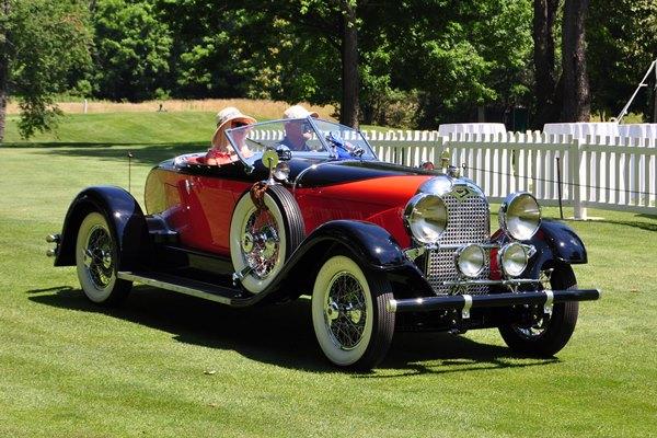 1928 Auburn 8-88 SPeedster Richard & Helen Harding