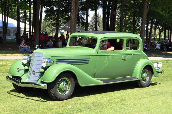 1934 Buick 98 Victoria Nicola Bulgari